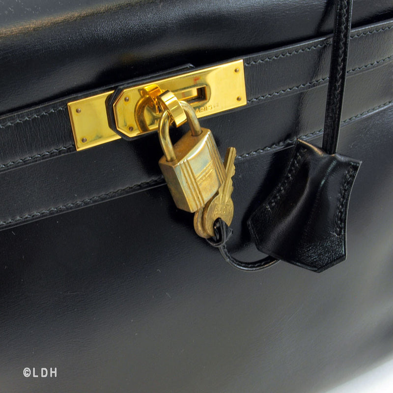 Hermes Black Kelly (Authentic Pre Owned)