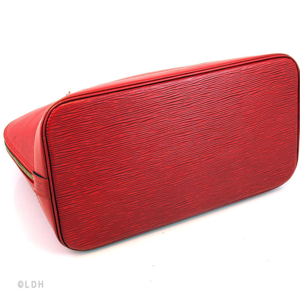 Louis Vuitton Red Epi Alma Leather (Authentic Pre Owned)