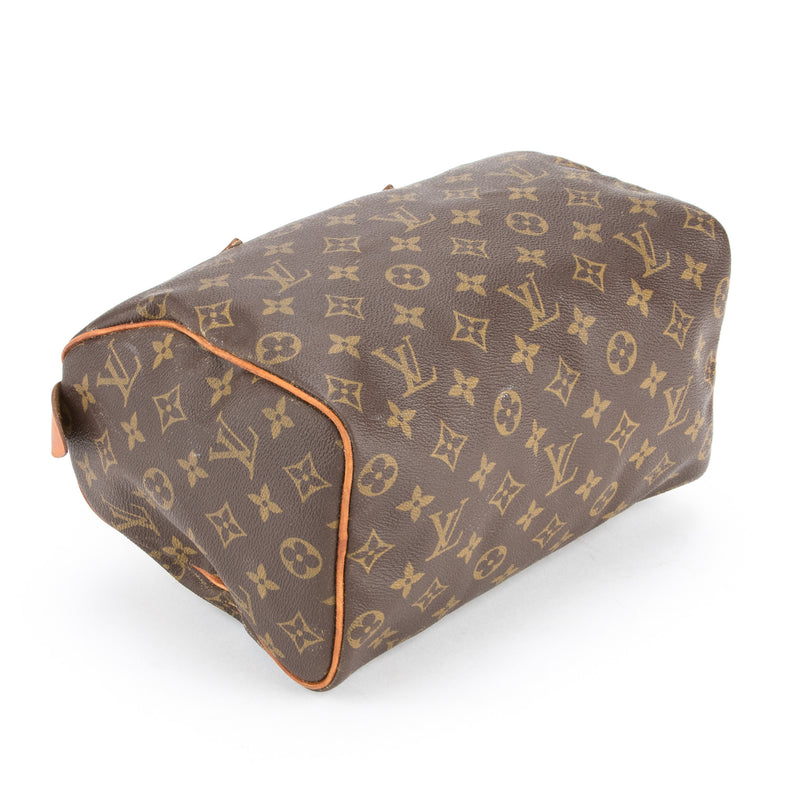 Louis Vuitton Monogram Speedy 25 (Authentic Pre Owned)