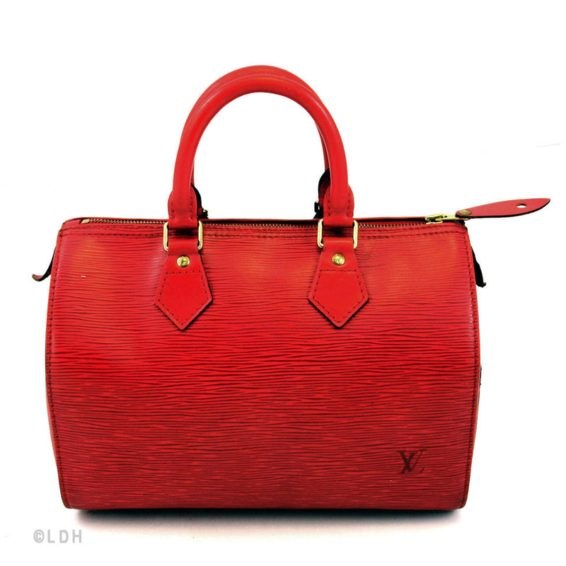 Louis Vuitton Red Epi Speedy 30 (Authentic Pre-Owned)