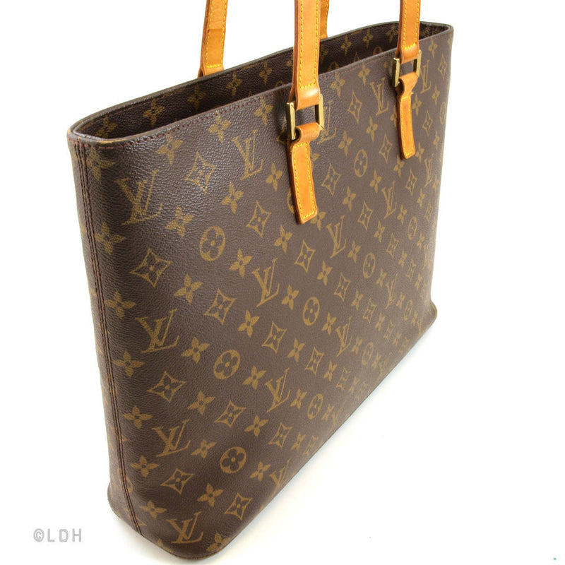 Louis Vuitton Monogram Luco Tote (Authentic Pre Owned)