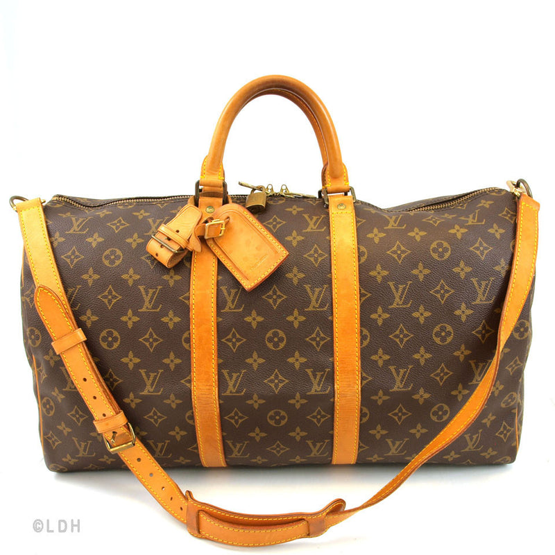 Louis Vuitton Keepall 50 with Strap (Authentic Pre Owned)
