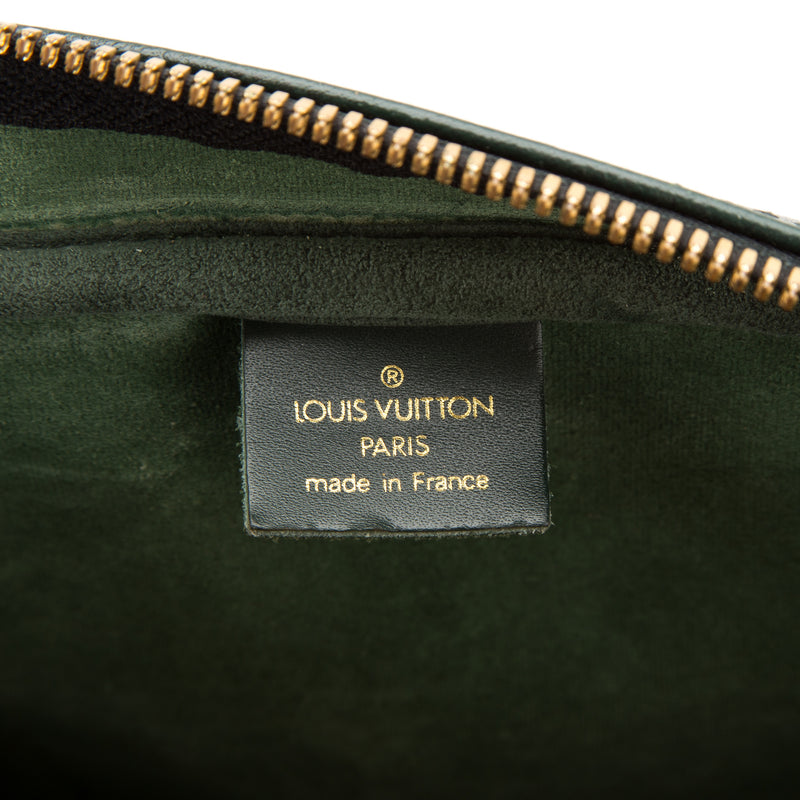 Louis Vuitton Green Taiga Kendall GM (Authentic Pre Owned)