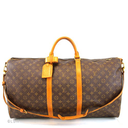 Louis Vuitton Keepall 60 with Strap (Authentic Pre-Owned)
