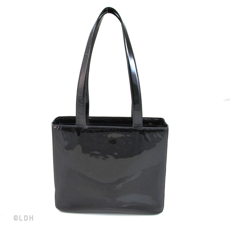 Chanel Patent Leather Tote (Authentic Pre Owned)