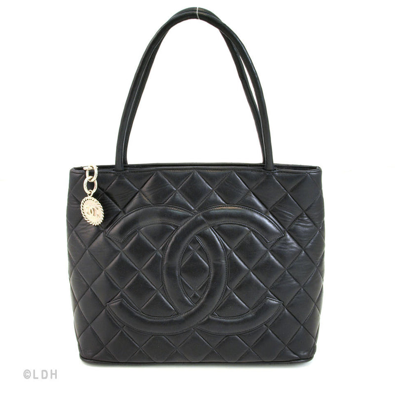 Chanel Medallion Lambskin (Authentic Pre Owned)
