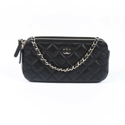 Chanel Quilted Classic Clutch with Chain Bag