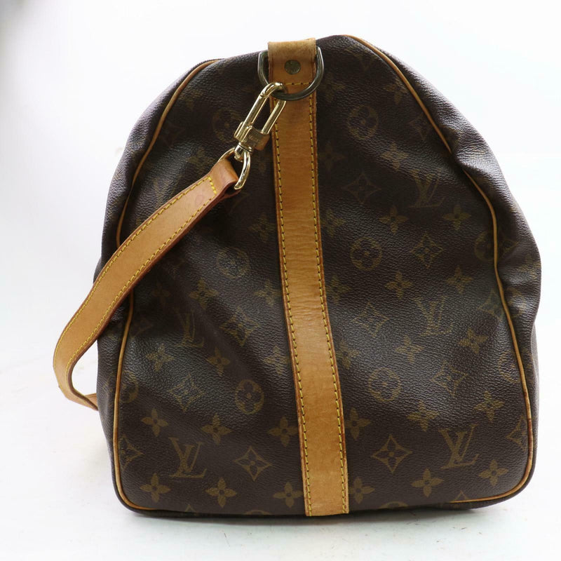 Louis Vuitton Boston Bag Keepall Bandoliere 55 M41414 Brown Monogram