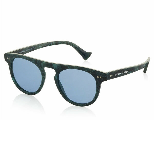 Burberry Blue Round Unisex Sunglasses BE4269 3706/80 BE4269 3706/80