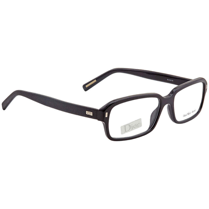 Dior Men's Black Rectangular Eyeglasses BLACKTIE160080752 BLACKTIE160080752