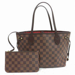 Louis Vuitton Hand Bag Neverfull Pm Ebene Brown Damier  (SHC7-11081)