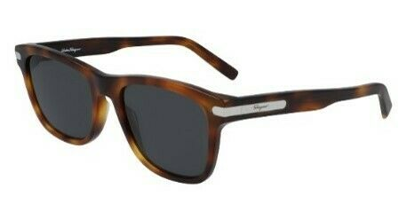 Salvatore Ferragamo Grey Square Men's Sunglasses SF936S/54/TORTOISE