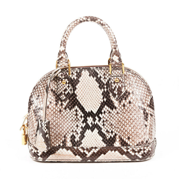 Louis Vuitton Bag Alma BB Python