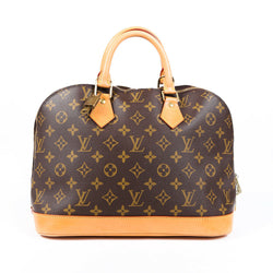 Louis Vuitton Alma Monogram Handbag
