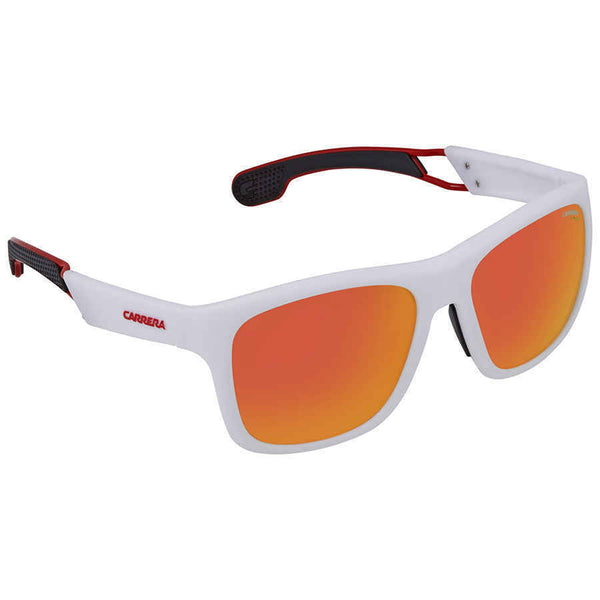 Carrera Red Mirror Rectangular Men's Sunglasses CARRERA 4007/S 6HT 56