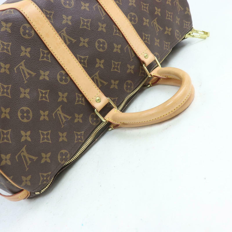 Louis Vuitton Boston Bag Keepall 45 Brown Monogram (SHC7-11092)