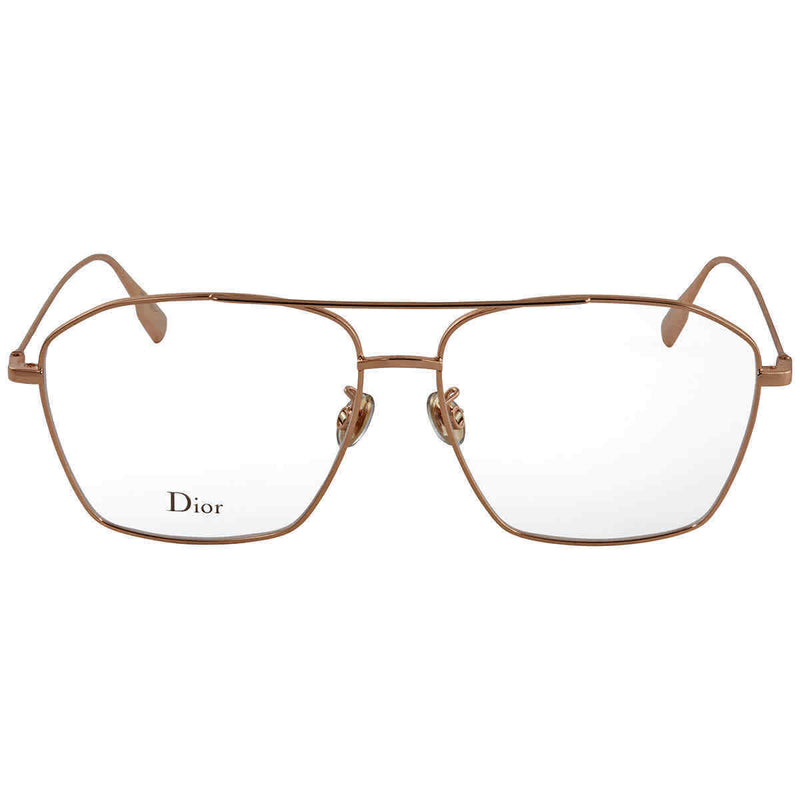 Dior Gold Aviator Eyeglasses STELLAIREO14F 57 STELLAIREO14F 57