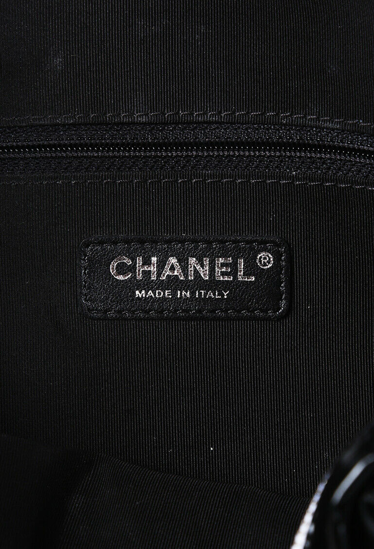 Chanel Bag La Pausa Camera Black Vinyl Crossbody