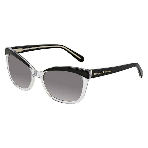 Kate Spade Amara Gray Gradient Cat Eye Ladies Sunglasses AMARAS 0KAX 55