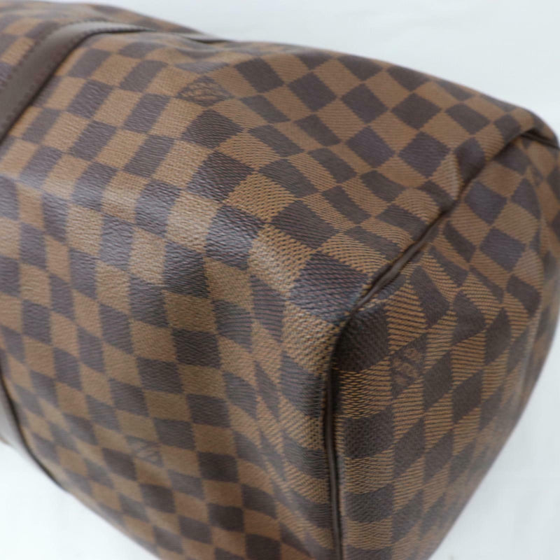 Louis Vuitton Boston Bag Keepall 50 Brown Damier (SHC7-11018)