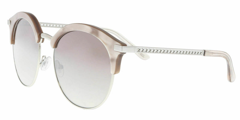 Jimmy Choo Brown Mirror Gradient Round Ladies Sunglasses HALLY/S FWM 55