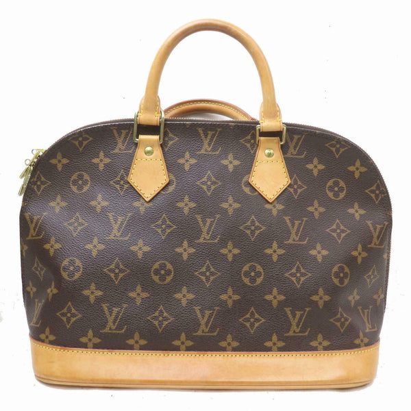 Louis Vuitton Hand Bag Alma Brown Monogram  (SHC7-10782)