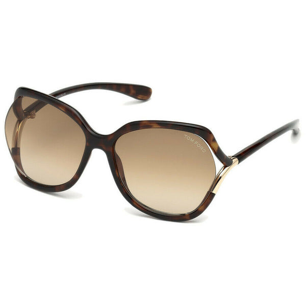 Tom Ford Oversized Ladies Sunglasses FT0578 52F 60 FT0578 52F 60