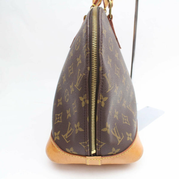 Louis Vuitton Hand Bag Alma Brown Monogram  (SHC1-16124)