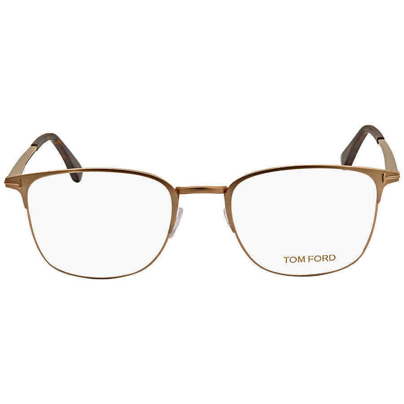 Tom Ford Demo Men's Matte Rose Gold Eyeglasses FT5453 029 52 TF5453-029-52