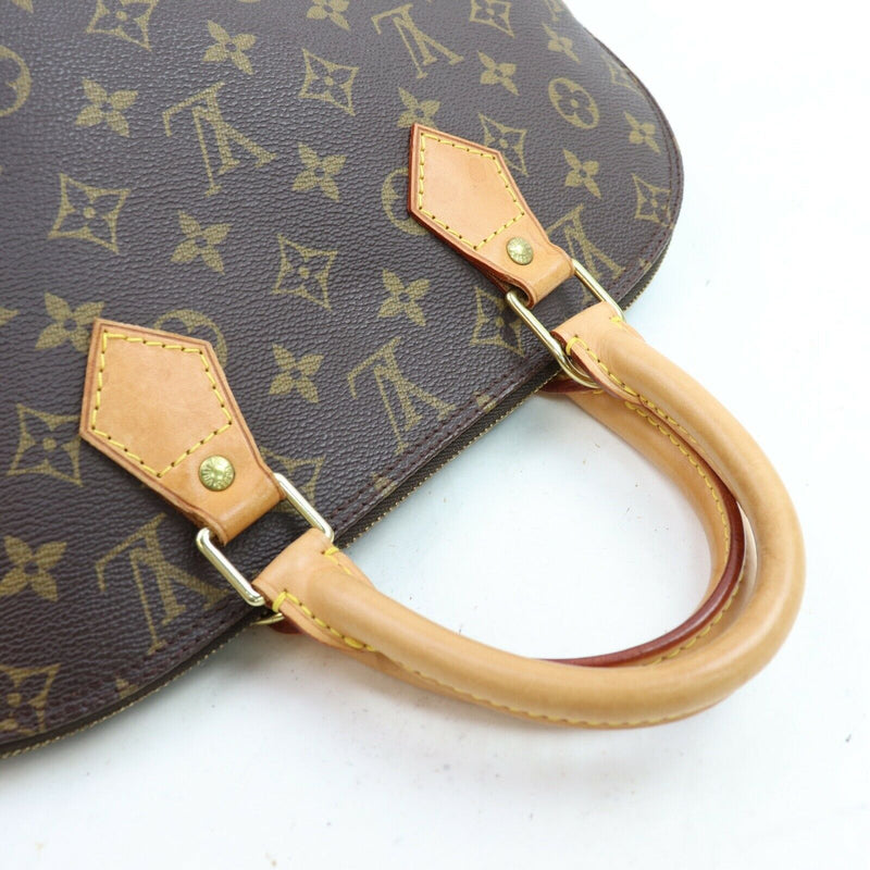Louis Vuitton Hand Bag Alma Brown Monogram  (SHC1-17073)