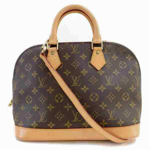 Louis Vuitton Hand Bag Alma Brown Monogram  (SHC7-11053)