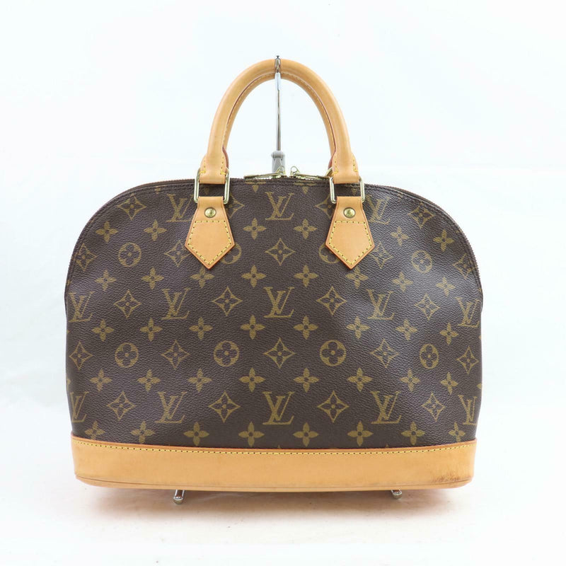 Louis Vuitton Hand Bag Alma Brown Monogram  (SHC1-16091)