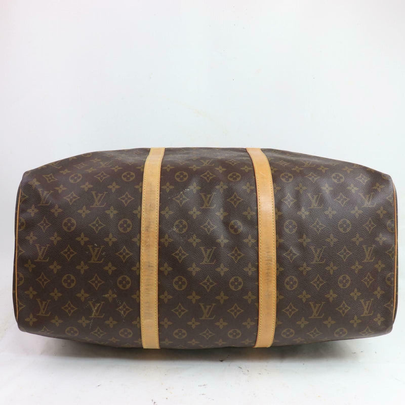 Louis Vuitton Boston Bag Sac Souple 55 Brown Monogram (SHC7-10436)