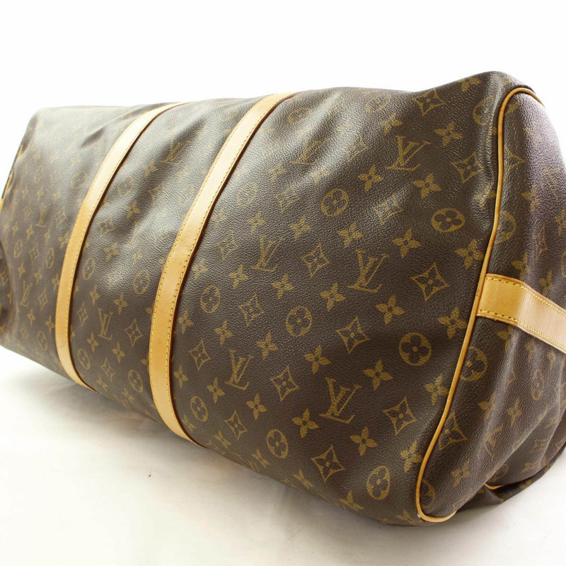 Louis Vuitton Monogram Keepall Bandouliere 60 (SHC1-11696)
