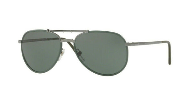 Burberry Green Aviator Men's Sunglasses BE3091J 1003/5U BE3091J 1003/5U