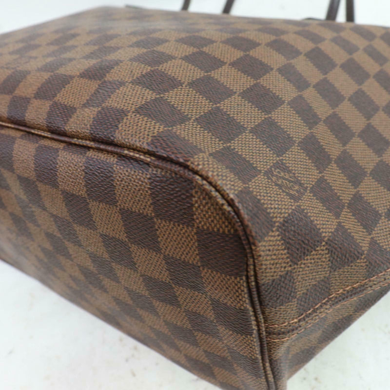 Louis Vuitton Tote Bag Neverfull Mm Brown Damier  (SHC7-10932)
