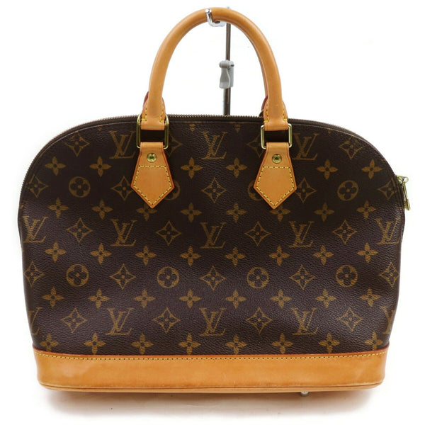 Louis Vuitton Hand Bag Alma Brown Monogram  (SHC7-10957)