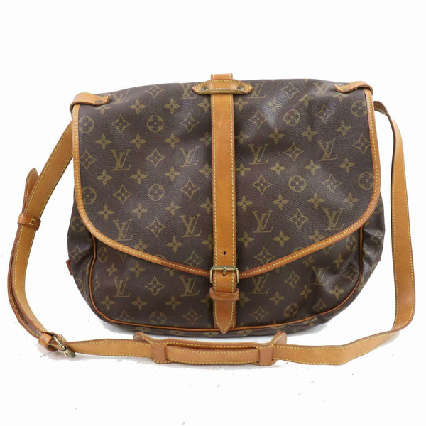 Louis Vuitton Shoulder Bag Saumur 30 Brown Monogram (SHC7-10560)