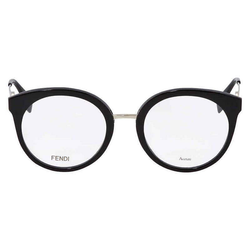 Fendi Black Ladies Eyeglasses FF0303080751 FF0303080751
