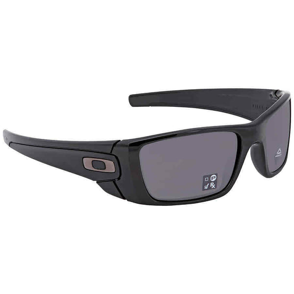 Oakley Fuel Cell Prizm Grey Wrap Men's Sunglasses OO9096 9096K2 60
