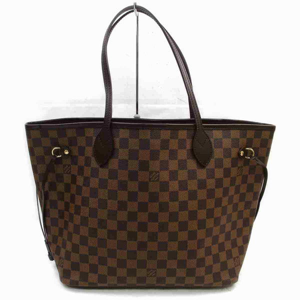 Louis Vuitton Tote Bag Neverfull Mm Brown Damier  (SHC7-11122)
