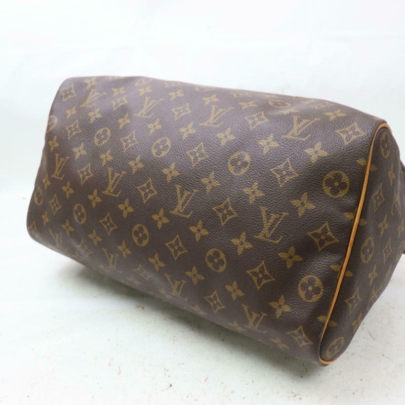 Louis Vuitton Hand Bag Speedy 35 Brown Monogram (SHC7-11005)