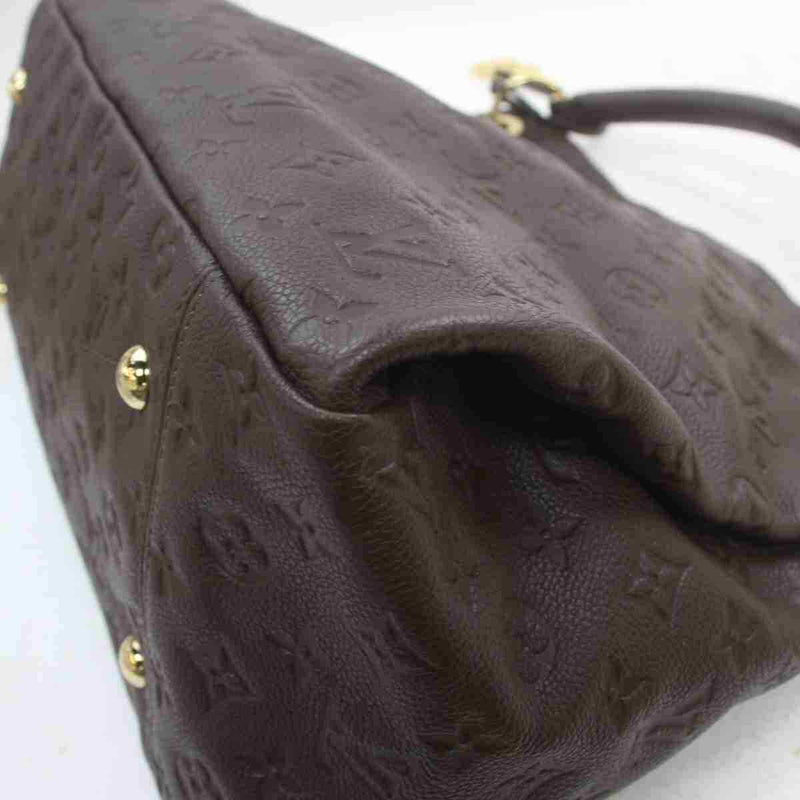 Louis Vuitton Tote Bag Artsy Mm Brown Monogram Empreinte  (SHC7-11124)