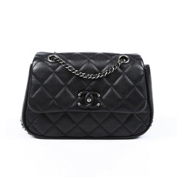 Chanel Frame in Chain Quilted Crossbody Bag