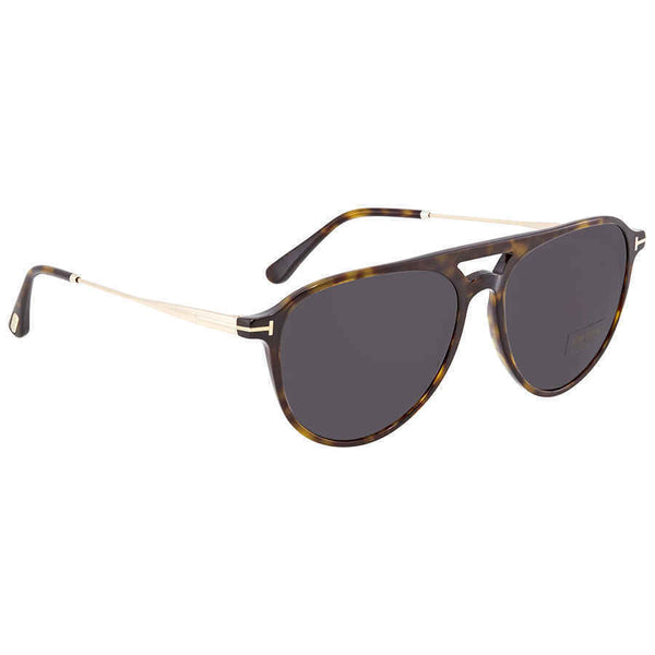 Tom Ford Grey Aviator Men's Sunglasses FT0587-52A FT0587-52A