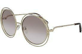 Chloe Light Brown Gradient Round Sunglasses CE114SC 722 58 CE114SC 722 58