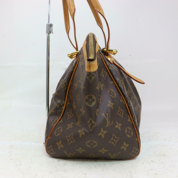 Louis Vuitton Hand Bag Tivoli Gm M40144 Brown Monogram