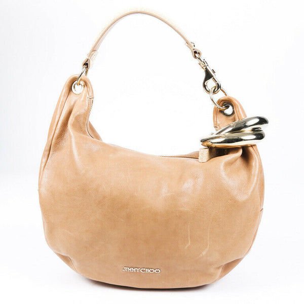 Jimmy Choo Solar Snakeskin Hobo Bag
