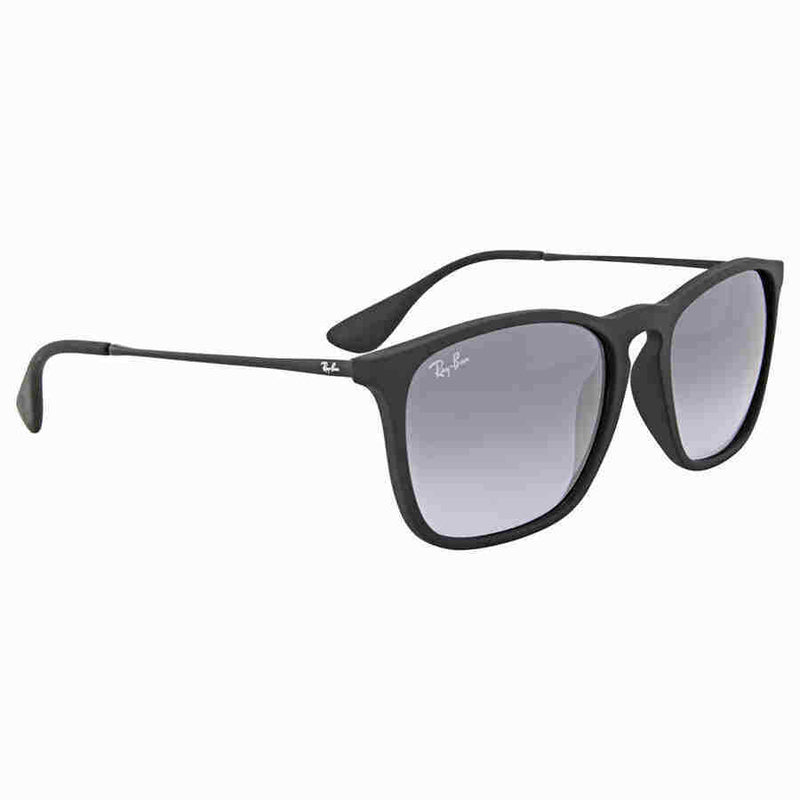 Ray Ban Chris Grey Gradient Sunglasses Rb4187 622 8g 54 Rb4187 622 8g 54 Luxedh