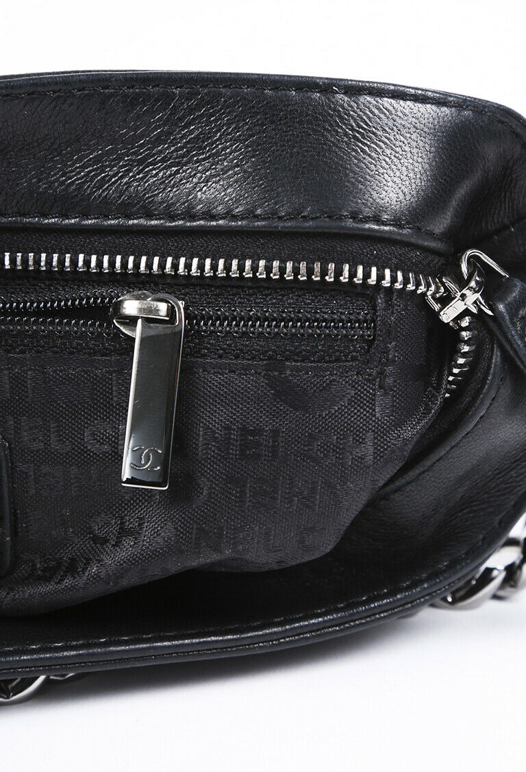 Chanel Chain Stitch Pochette Bag